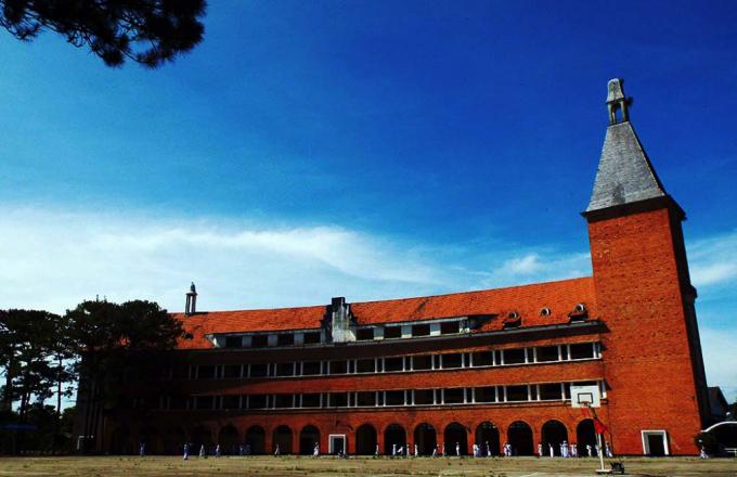 Trường Cao đẳng sư phạm Đà Lạt – nơi diễn ra cuộc thi.