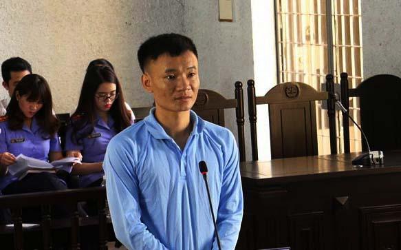 Bị cáoVõ Văn Cần tại phiên tòa.