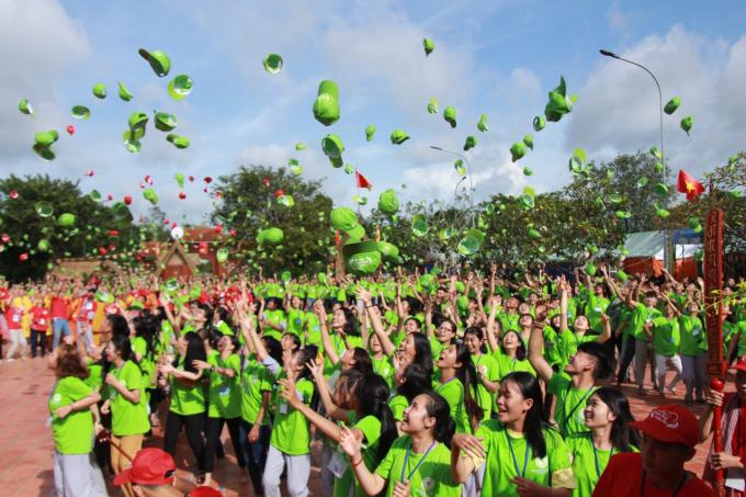 Hội trại Hào khí miền đông quy tụ gần 4.000 bạn tre tham gia.
