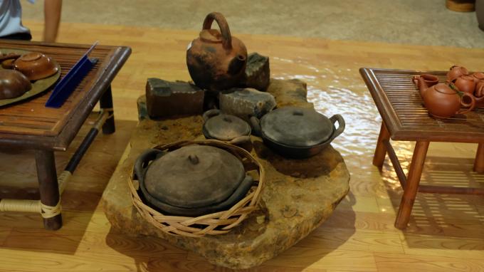 Nhiều sản phẩm có giá trị về văn hoá.