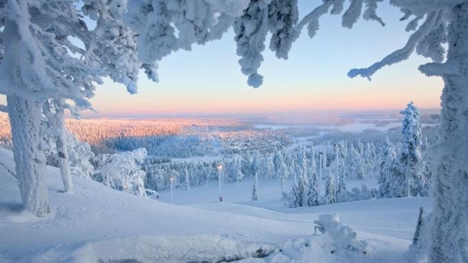Lapland chiếm 1/3 diện tích đất liền của Phần Lan, bao quanh là Thụy Điển, Na Uy và Nga. (Ảnh: Bored Panda).