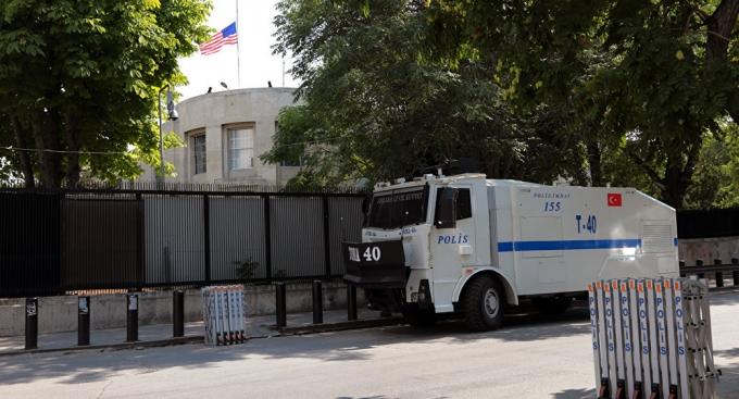 Đại sứ quán Mỹ ở Thổ Nhĩ Kỳ đóng cửa do lo ngại an ninh. (Ảnh: AP)