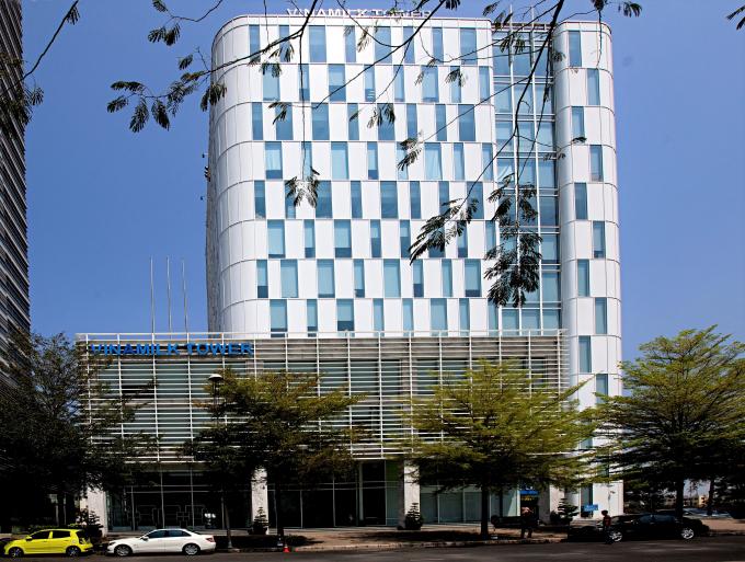 Trụ sở chính công ty cổ phần Sữa Việt Nam (Vinamilk) tại thành phố Hồ Chí Minh.