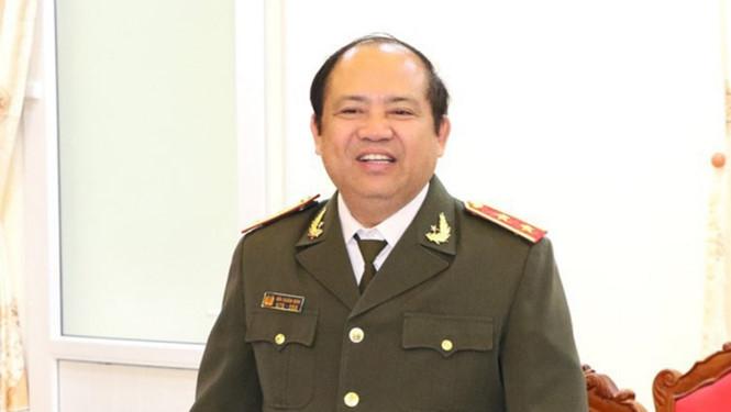 Trung tướng Bùi Xuân Sơn, nguyên Ủy viên Ban Thường vụ Đảng ủy, nguyên Phó tổng cục trưởng Tổng cục 4. ẢNH CONGANHATINH.GOV.VN
