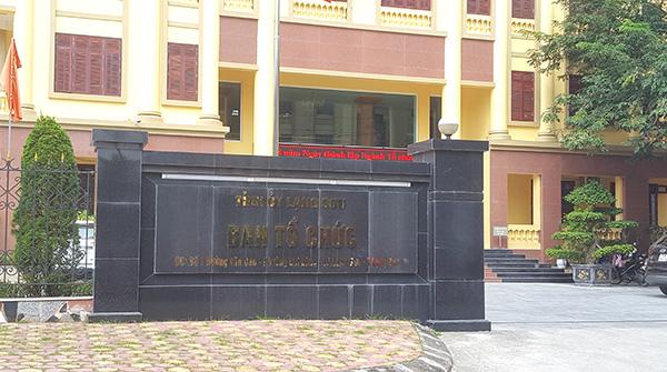 Ban Tổ chức Tỉnh ủy Lạng Sơn.