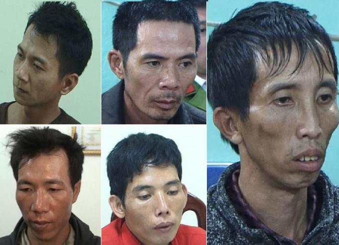 Các đối tượng đã bị cơ quan Công an bắt giữ.