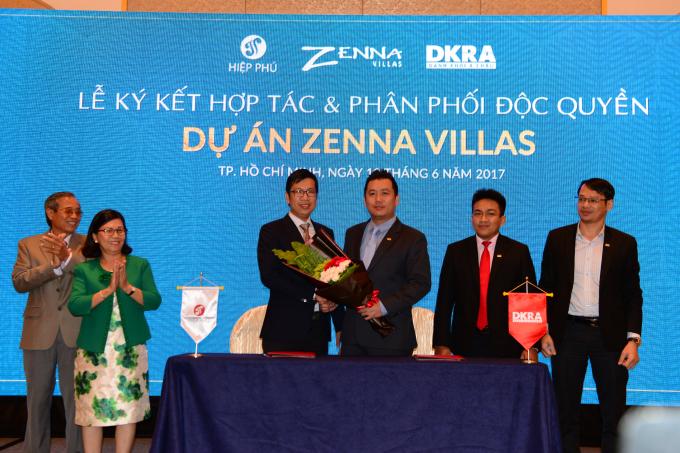 Công ty CP Hiệp Phú phối hợp DKRA công bố dự án khu nghĩ dưỡng cao cấp Zenna Villas