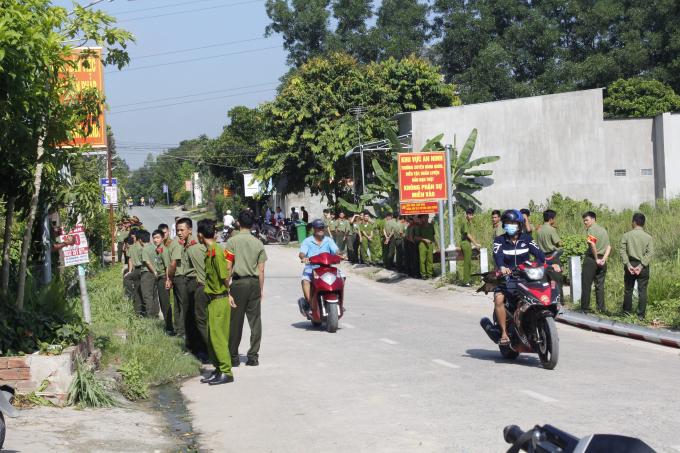 Trường Cao đẳng ANND II huy động gần 100 học viên ra ngăn cản, giữ hiện trường?