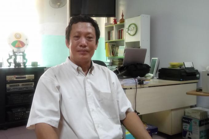 Thầy Đỗ Thanh Hải, người nghiên cứu ra ngành khoa học năng lượng tâm thức Totha, hướng đến giải quyết những vấn đề nan giải của con người trong xã hội hiện đại đang gặp phải.
