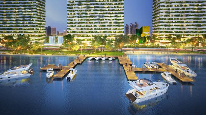 Diamond Lotus Riverside- Căn hộ sinh thái ven sông cách chợ Bến Thành 5 phút.