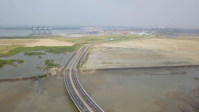 Cụm cảng Cái Mép - Thị Vải thuộc quy hoạch cảng biển số 5 đã được chính phủ phê duyệt.