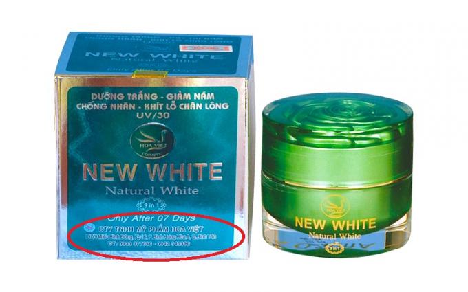 Cùng một công ty nhưng sản phẩm Hoa Việt bên trên có địa chỉ tại quận Bình Tân.