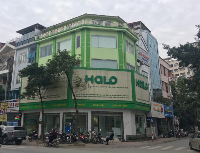 Trụ sở Công ty Halô tại Hà Nội đang xảy ra lùm xùm vì những tranh cãi