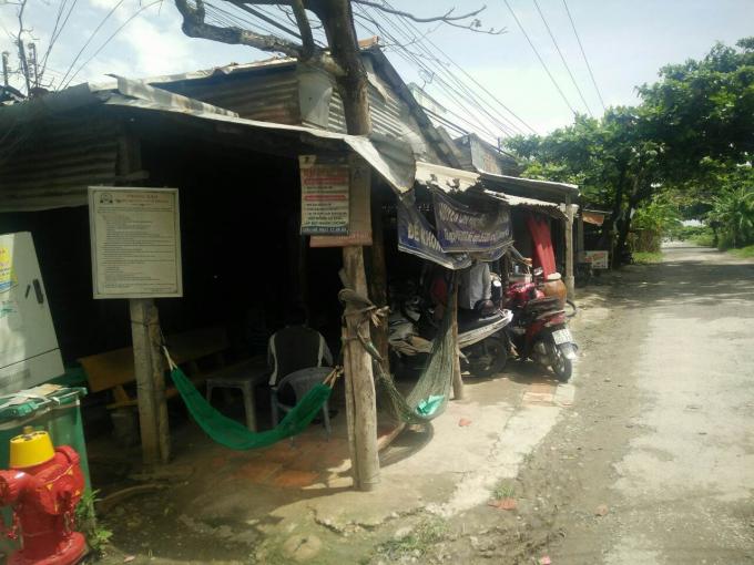 Khu quy hoạch chợ Tân Phú đã được người dân sinh sống ổn định từ nhiều năm nay.