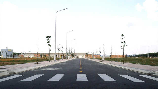 Một dự án của Kim Oanh Real đầu tư hoàn thiện hạ tầng.
