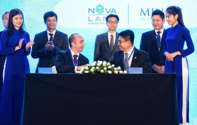 Tập đoàn Novaland ký kết hợp tác chiến lược cùng Tập đoàn toàn cầu Minor Hotels trong việc quản lý vận hành 07 khu khách sạn - nghỉ dưỡng với tổng số hơn 3.500 phòng.