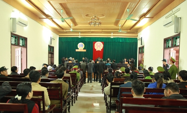 Phiên xử diễn ra sáng ngày 29/11 và dự kiến sẽ kéo dài 3 ngày.