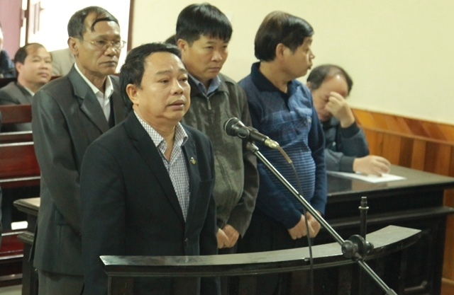 Nguyên Chủ tịch UBND huyện Kỳ Anh Nguyễn Văn Bổng.