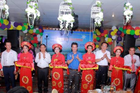 Lễ khai trương với sự tham dự của những lãnh đạo cao nhất tỉnh Hà Tĩnh là Bí thư, Chủ tịch tỉnh, cùng các Ủy viên Ban Thường vụ Tỉnh ủy, lãnh đạo UBND tỉnh, các sở, ban, ngành và huyện Nghi Xuân.
