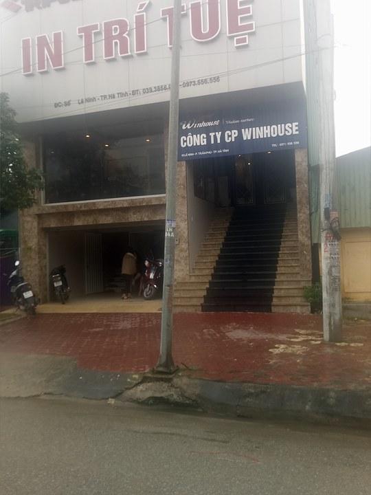 Trụ sở Công ty CP Winhouse tại thành phố Hà Tĩnh.