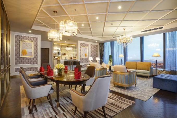 Với thiết kế sang trọng, hấp dẫn, Vinpearl Hà Tĩnh Hotel dự kiến sẽ là một bước đột phá về du lịch tại Hà Tĩnh.