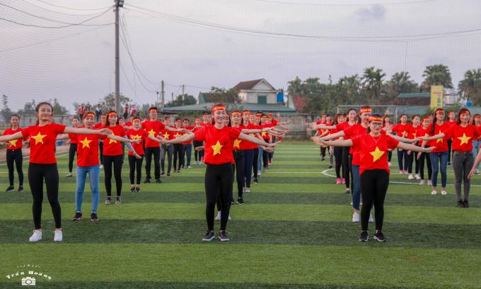 ĐH Hà Tĩnh tiếp lửa cho đội tuyển U23 Việt Nam.
