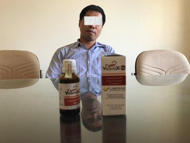 Người đàn ông này cho rằng mình có khả năng cung cấp nhiều sản phẩm Vidatox.