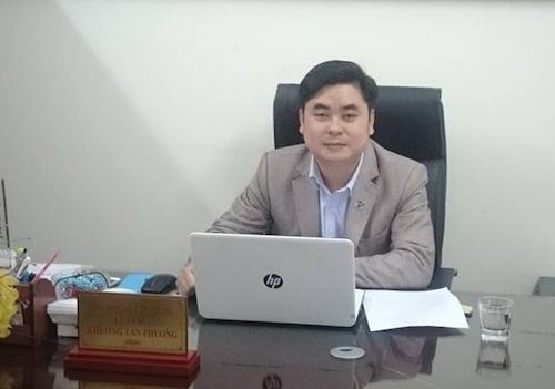 Luật sư Khương Tân Phương - Trưởng văn phòng luật sư Thuận Nam, Đoàn Luật sư Hà Nội
