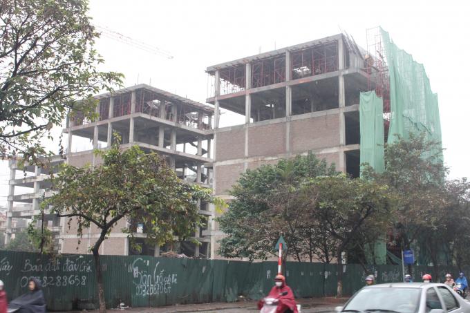Dự án của Công ty TNHH Kim Anh.