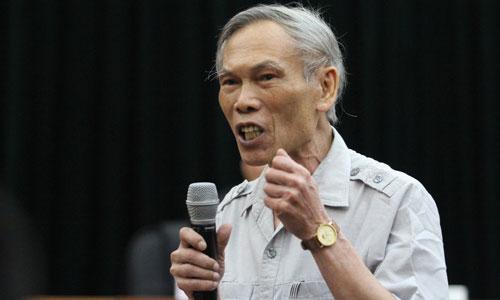 Ông Trương Đình Tuyển, nguyên Bộ trưởng Thương mại.