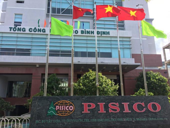Trụ sở Pisico Bình Định.