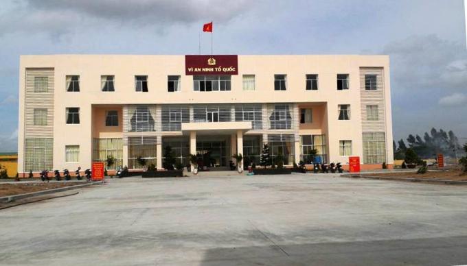 Trụ sở Công an huyện Hồng Ngự
