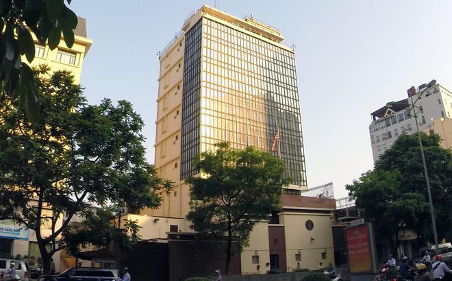 Văn phòng chính Đại sứ quán Mỹ hiện nay nằm trên phố Láng Hạ, Hà Nội