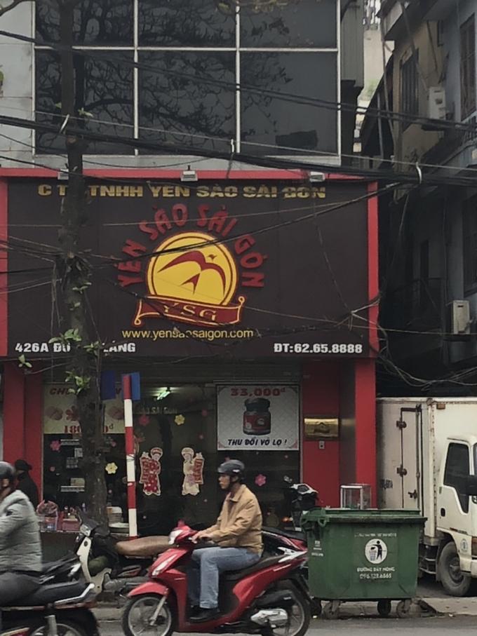 Trụ sở Công ty Yến Sào Sài Gòn.