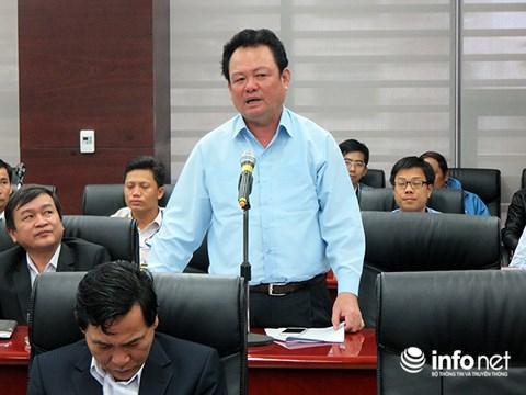 Ông Nguyễn Điểu, Giám đốc Sở TN-MT Đà Nẵng.