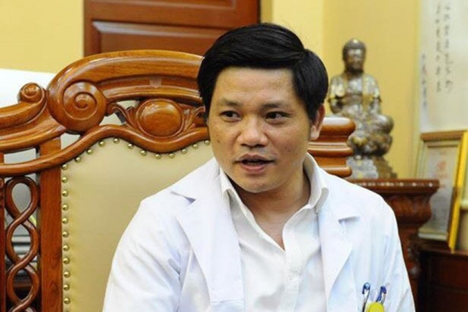 Ông Nguyễn Duy Ánh, Giám đốc Bệnh viện Phụ sản Hà Nội