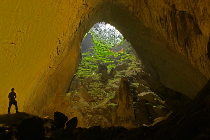 Vẻ đẹp hang Sơn Đòng nổi tiếng khắp thế giới. Ảnh:Oxalis