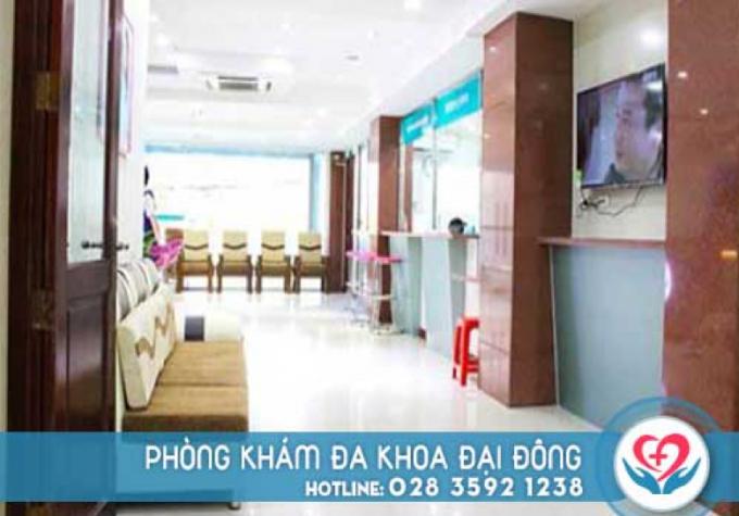 Phòng khám đa khoa Đại Đông là mô hình chất lượng với đầy đủ y tế tiện nghi
