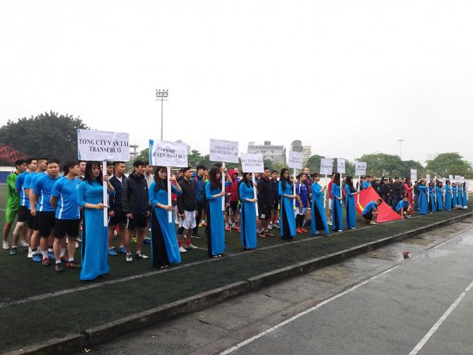 Các đội bóng tham dự giải năm nay.