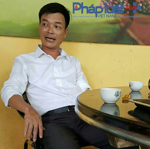 Ông Hoàng Mạnh Hùng - Chủ tịch UBND xã Đông An (huyện Văn Yên).