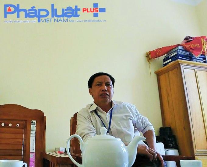 Ông Vi Vă Sự - Chủ tịch UBND xa Thổ Bình.