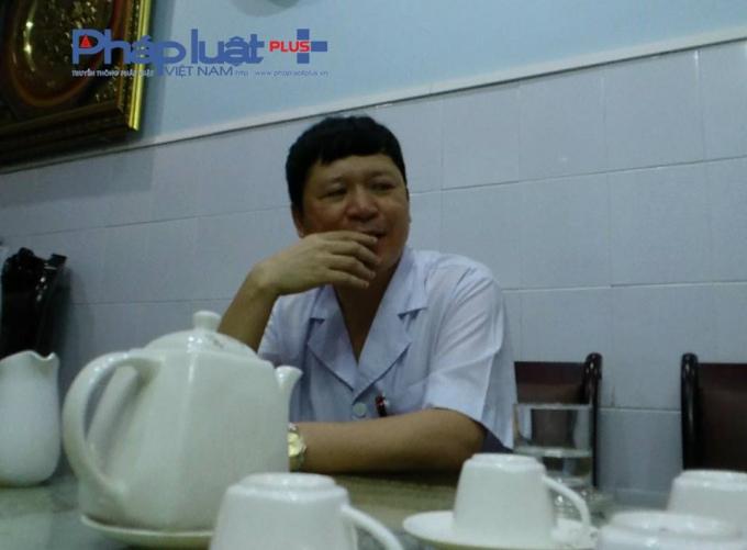 Ông Phạm Quang Thanh - Phó giám đốc Sở Y tế, giám đốc Bệnh viện Đa khoa Tuyên Quang. (Ảnh: Tiến Vũ)