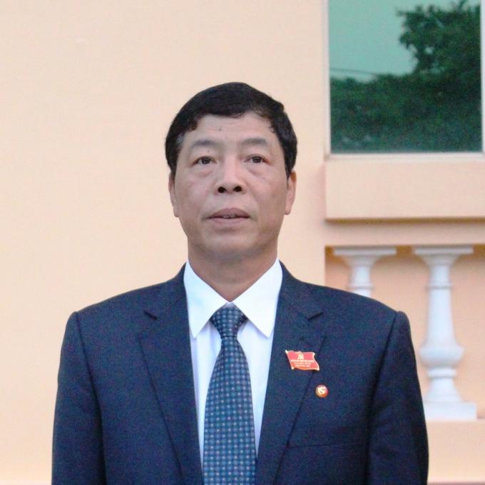 Đồng chí Bùi Văn Hải, Bí thư Tỉnh ủy Bắc Giang.