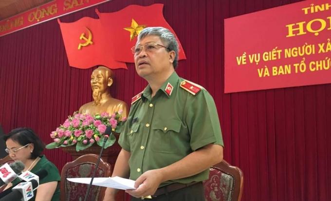 Thiếu tướng Đặng Trần Chiêu, Giám đốc Công an tỉnh Yên Bái thông tin hung thủ đã tử vong vào lúc 15h cùng ngày.