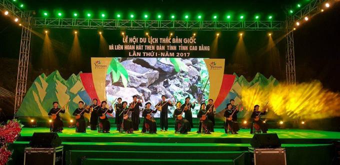 Lễ hội Du lịch Thác Bản Giốc: Ca sỹ Tân Nhàn