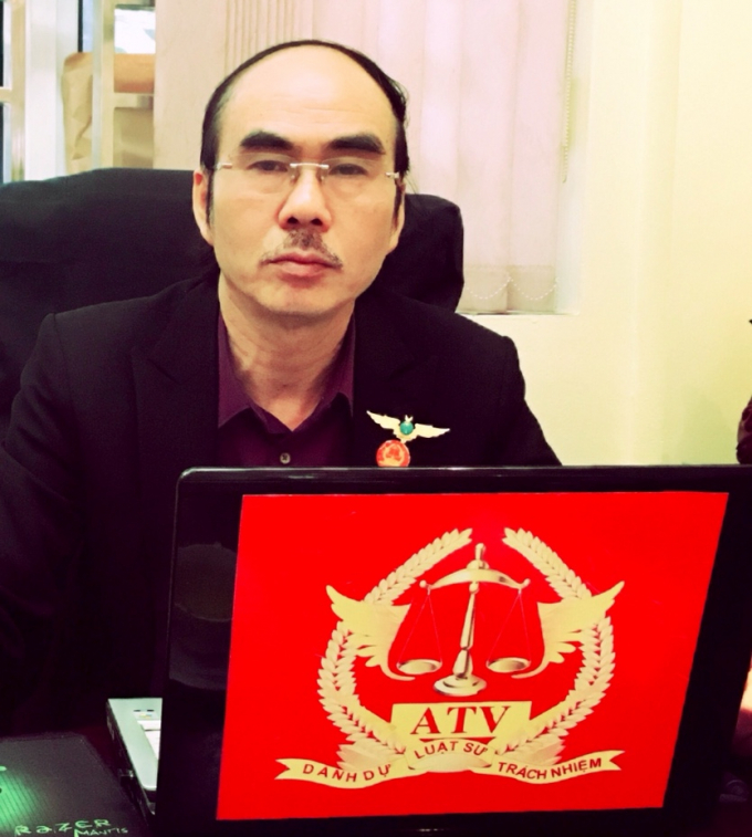Tiến sĩ - Luật sư Phan Thiết Hải thuộc VPLS ATV – Đoàn luật sư TP HN.