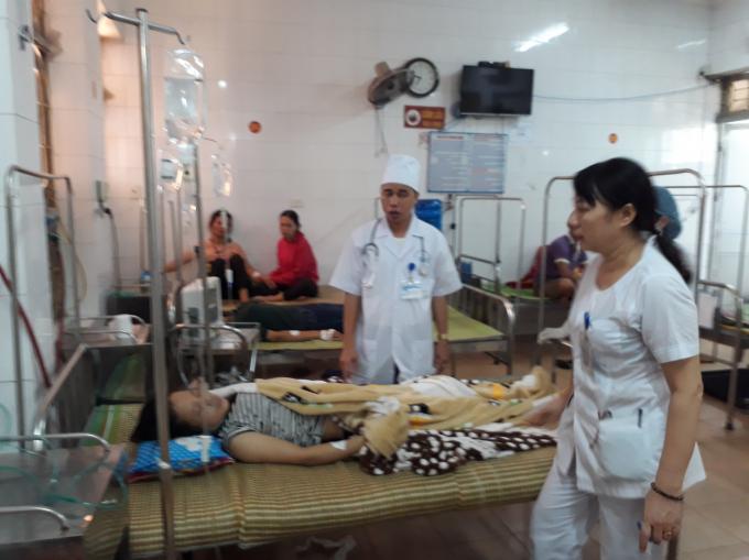 Các nạn nhân đang được điều trị tại bệnh viện.
