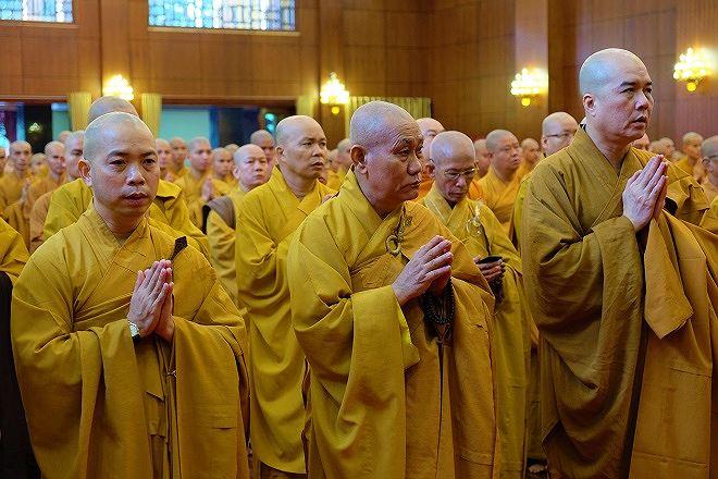 Tăng ni, phật tử xúc động hành lễ tưởng niệm Chủ tịch nước Trần Đại Quang