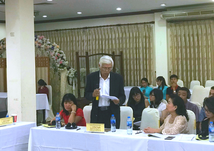 Buổi hội thảo thu hút sự quan tâm của nhiều chuyên gia.