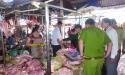 Bình Phước: Phát hiện hơn 400 kg thịt lợn bốc mùi hôi thối